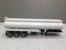 HO 1/87 Promotex/Herpa # 5353 Elipitical 3 axle Tanker Trailer - White
