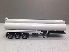 HO 1/87 Promotex/Herpa # 5353 Ellipitical 3 axle Tanker Trailer - White