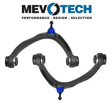 NEW Avalanche Silverado Escalade Set of 2 Front Upper Control Arms Pair Mevotech