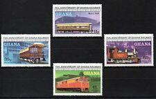 Ghana 1978 Ghana Railways MNH set S.G. 868-871