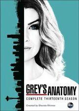Greys Anatomy: Complete Thirteenth Season 13 (DVD, 2017, 6-Disc Set) - Brand New