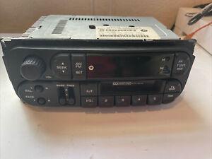 Chrysler Corporation Car Stero Part # P04858583AE FM/AM  Cassette untested OEM