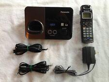 Panasonic KX-TG9321 2-Line Cordless Phone Base, KX-TGA939T Handset, Adapter, 222