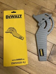 Dewalt DWS5028 Plunge Track Saw Guide Rail Angle Attachment Miter Gauge T Square