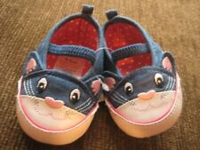 Girls' Pram Shoes 0-3 Months Cat F&F Tesco New with Tags