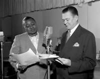 OLD CBS RADIO PHOTO Radio Program The Beulah Show Pictured Is Hattie Mcdaniel