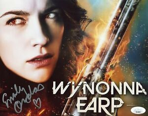 Emily Andras Wynonna Earp 8x10 Photo Signed Autographed JSA Certified COA Auto