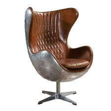 Egg Chair | Aviator | Design | Aluminum | Leather | Ceasario