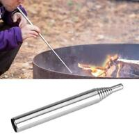 Einziehbares Outdoor-Kochwerkzeug Camping Blasrohr Feuer Blasrohr starten B5P2