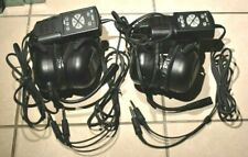 BOGO!! TELEX ANR - 1D HEADSET 1 Works Great, 1 for Parts Great Cond!!