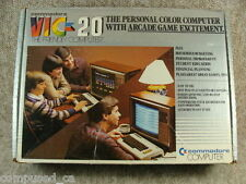 Commodore Vic 20 Original Box -Vintage Computer Early SN 595660 - AS-IS - Retro