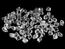 10 Stück Herkimer Diamant Bergkristall klare Doppelender USA | ca. 6 - 8 mm