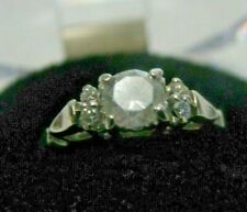 Certified Diamond Ring  0.56ct D Color S2 $1700 + Platinum $1395, INSCRIBED