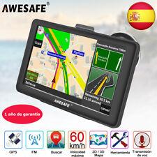"""7""""awesafe coche Camión GPS navegador SAT NAV Portátiles con mapa de Europa"""