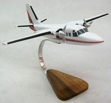 Rockwell TC-690 Turbo Airplane Wood Model Large