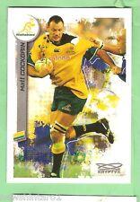 2003  RUGBY UNION CARD  #75  MATT COCKGAIN, AUSTRALIAN WALLABIES
