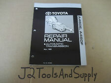 *Genuine TOYOTA 1993 A46DE / A46DF Transmission Dealership Repair Manual RM389U