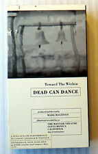 Dead Can Dance Toward the Within RARE VHS Movie Concert Tour Video Lisner Ticket