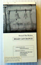 Dead Can Dance Toward the Within VHS Movie Concert Tour Video Lisner Ticket Stub
