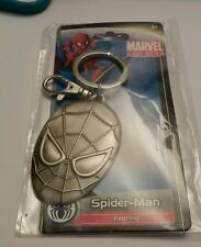 SPIDER-MAN KEYRING NEW IN PACKAGE MARVEL UNIVERSE BRAND Stan Lee  a4