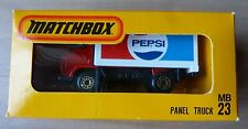 !! MB 23, Panel Truck Pepsi in Japan - Box ,  Matchbox Superfast in OVP RAR !!