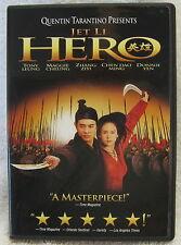 Dvd - Hero (2002) - Jet Li, Maggie Cheung, Presented By Q Tarantino - Guaranteed