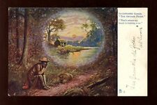Music Illustrated Songs The Swanee River Tuck Oilette #1160 Vintage PPC