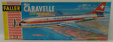 AVIATION : CARAVELLE SUD-AVIATION MODEL KIT MADE BY FALLER SCALE 1:100 NO.1958