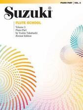 Suzuki Flute School, Vol.3 (Piano Accompaniment), , 0874871700, Book, Acceptable