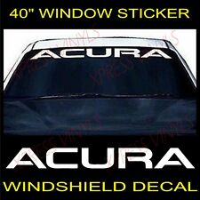 ACURA Graphic Windshield Vinyl Decal Sticker Custom Vehicle Logo 40""