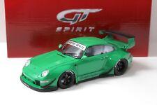 """1:18 GT Spirit Porsche 993 RWB """"RAUH-Welt"""" green NEW bei PREMIUM-MODELCARS"""
