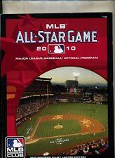 2010 ALL STAR BASEBALL OFFICIAL PROGRAM