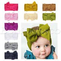 Baby Girl Boy Headbands Newborn Infant Toddler Hairbands Hats Soft Cute Headwrap