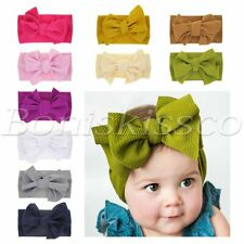 Baby Girl Boy Headbands Newborn Infant Toddler Hairbands Hats Soft Cute Headwrap
