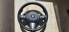 BMW x5 f15 x6 f16 f30 f31 f20 M Sport Noir Heated volant clés OEM SRS plein