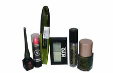 Bright Green Mascara 6pc Set inc Barry M Varnish EyeShadow Liner & Lipstick
