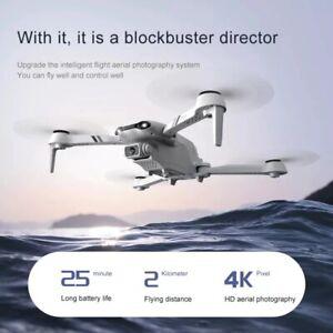 2021 New F10 Pro 5G WiFi FPV Mini RC Drone GPS 6K HD Camera RC Quadcopter