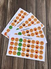 24 Emoji Stickers for Various Types of Planners (#127)
