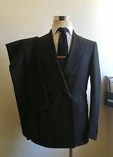 NEW $3995 Sartorio Kiton for MP Massimo Piombo 38R/48R Charcoal Flannel Attolini