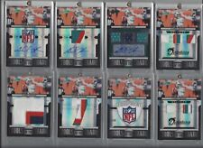 CHAD HENNE 2011 ABSOLUTE TOOLS TRADE RAINBOW LOT (10) LOGO SHIELD PATCH AUTO 1/1