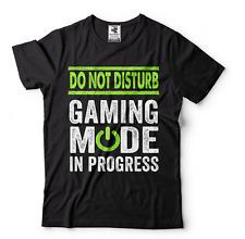 Gaming T-shirt Gamer Shirt Do not disturb gaming Tee shirt Mens funny shirt