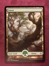 Battle for Zendikar Full Art Land  Forest #274  VO  -  MTG Magic (Mint/NM)