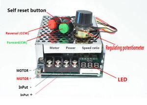 Linearantrieb Motordrehzahlregler Digitalanzeige 40A 12V 24V DC Selbst Reset