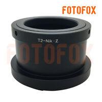FOTOFOX T2 T-2 telephoto lens to Nikon Z mount full frame camera adapter Z6 Z7
