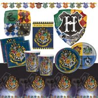 Harry Potter Hogwarts Party Supplies Tableware, Decorations, Banners, Balloons