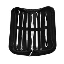 7pcs Blackhead Acne Whitehead Pimple Blemish Extractor Remover Tool Set Bl VZR