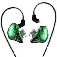 BASN In Ear Monitors Dynamic Earphones Detachable Cable Extra Bass Earbuds Hi-Fi