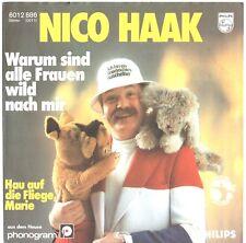 "Vinyl-7""-Cover # only Cover # Nico Haak # Warum sind alle # Philips # 1979 # m-"