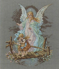 Cross Stitch Kit ~ Janlynn / DFN Guardian Angel Watching Over Kids #1149-14