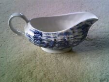 Gravy Boat, British Anchor - Olde Country Castles - Gravy Boat - Blue